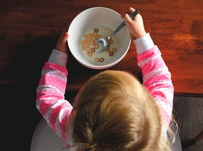 Enseñar a comer a los más pequeños